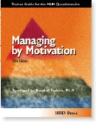 Managing by Motivation Third Edition - MbM Questionnaire